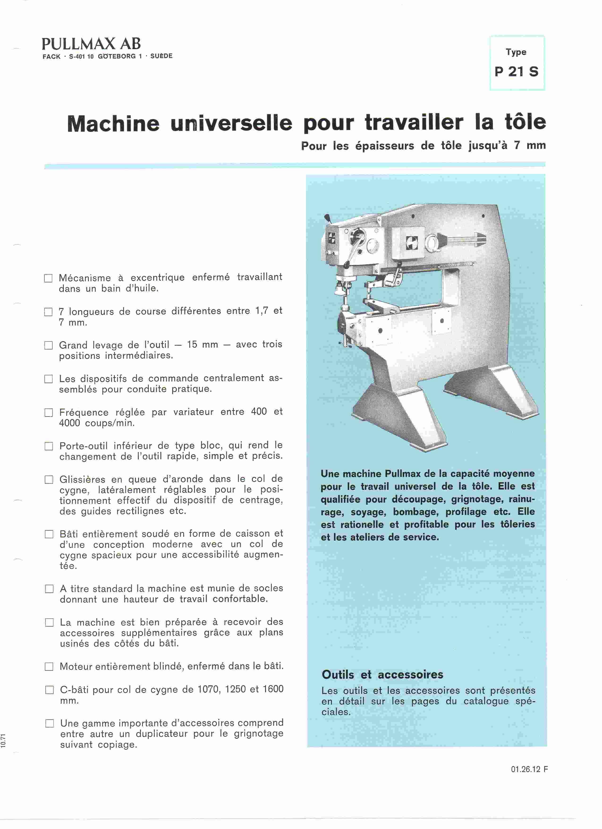 Brochure P21S