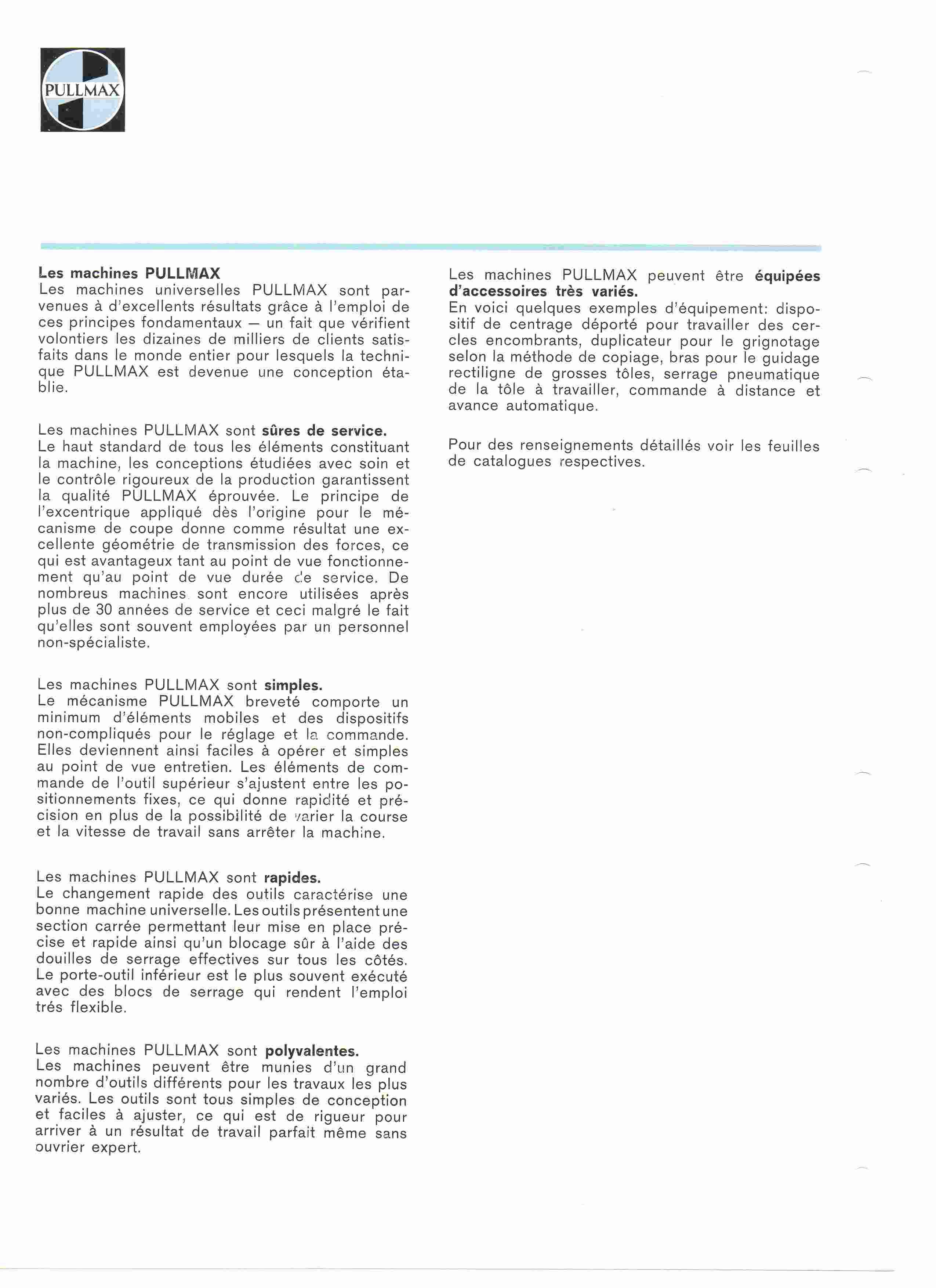 Brochure générale